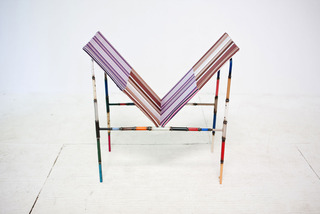 chair w/paintings , Andy Coolquitt
