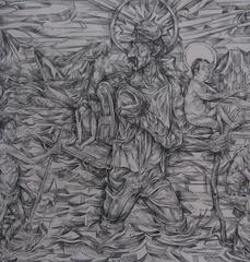Usumacinta River Saint Lazarus, Oscar de Las Flores