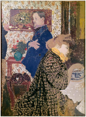 Misia and Vallotton at Villeneuve, Edouard Vuillard