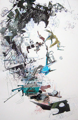 Untitled Drawing Collage II, Madeline Stillwell