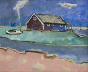 White Beach (House on the Beach), Max Weber