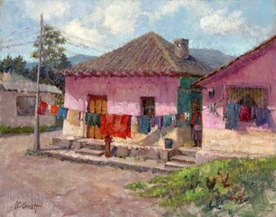Laundry Day Rumipampa Ecuador , Joe Anna Arnett