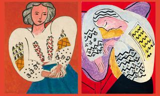 """La Blouse Roumaine"""" / """"Le Rêve ou la Dormeuse, Henri Matisse"""