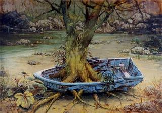Rooted Blue Boat, Masakatsu Kondo