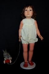 20120329114305-mayer__duck_rabbit__rabbit___doll__wax__acrylic_eyes__hair__taxidermied_rabbit___wooden_pull-along_toy_78x48x21cm_2012__681x1024_
