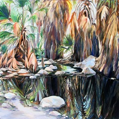 Palm Springs Reflection, Karen Wickham