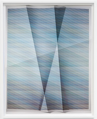 Untitled (Aggregate-104,975 combinations of a 2 x 2 grid, 18 colors), John Houck