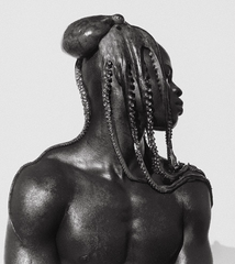 Djimon with Octopus, Hollywood, Herb Ritts