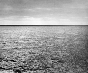 Photograph taken by the artist during his crossing of the Atlantic, Bill Bollinger