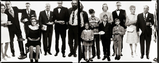  Allen Ginsberg\'s family: Hannah (Honey) Litzky, aunt; Leo Litzky, uncle; Abe Ginsberg, uncle; Anna Ginsberg, aunt; Louis Ginsberg, father; Eugene Brooks, brother; Allen Ginsberg, poet; Anne Brooks, niece; Peter Brooks, nephew; Connie Brooks, sister-in-la,Richard Avedon