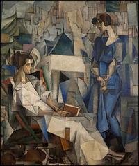 Two Women, Diego Rivera