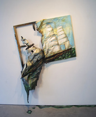 Sinking Ship (Large Clipper Ship) ,Valerie Hegarty