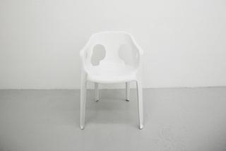 Prototype pour une chaise de jardin, Mathieu Mercier