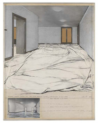Wrapped Floors (Project for Haus Lange Museum-Krefeld), Christo