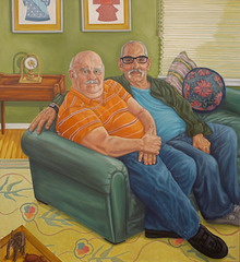 Loveseat (Jeff & Ed), Patricia Horing