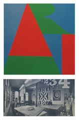On the Bowery,Robert Indiana
