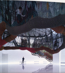 Crazy Hyperculture in the Vertigo of the World Installation views, Los Molinos, Faena Art Center, Buenos Aires, Argentina, Ernesto Neto