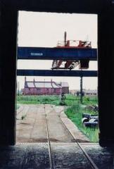 Empty Stockyard, Hawthorn Leslie, Hebburn\' , Peter Burns
