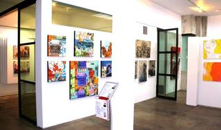 Artspace Warehouse Los Angeles Pop Art, Robert Lebsack, Hilary Bond, Johnny Taylor
