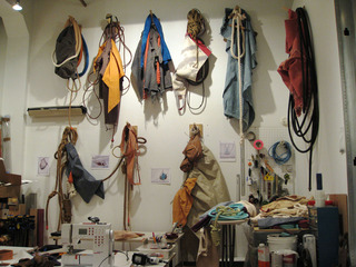 Rachel Foullon  Artist\'s studio ,