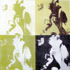 Iris a la Warhol #3, Bernice Faegenburg