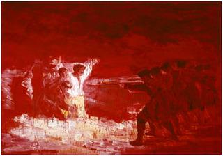 Après Goya, Yan Pei-Ming