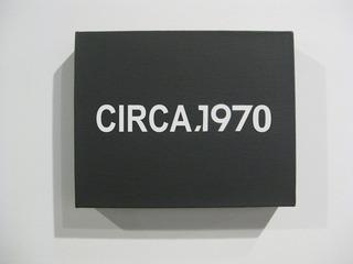 Circa 1970, none