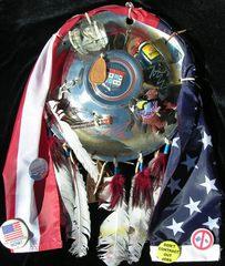 Hubcap Shield, Marcus Amerman