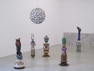 installation view of the exhibition,Richard Fauguet