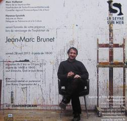Solo exhibition Fort Napoléon, La Seyne-sur-Mer (France),Jean-Marc Brunet