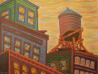 NoLita Water Tank (NYC),, Kevin Swalliow