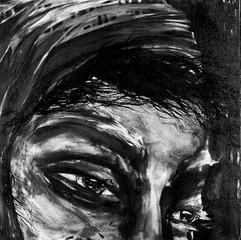 Woman in Scarf, Peggy Serdula