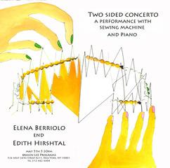 Two sided Concerto, Elena Berriolo