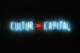 Kultur = Kapital [Unique], Alfredo Jaar