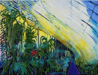 Glasshouse Vegetation, Simon McWilliams