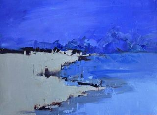 Blue Landscape  , Sandra Pratt