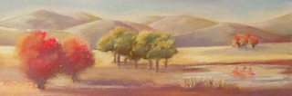 Revolving Landscape Study, Anne Hartwell