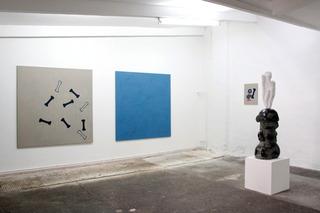 Artists of the Gallery, Stefan Rinck (right), Dominik Steiner (left)