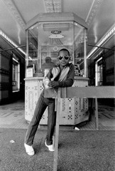 A Boy in Front of the Loews 125th St. Movie Theatre, Harlem, NY, Dawoud Bey