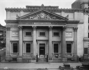 "Wurts Brothers, ""Bowery Savings Bank"","