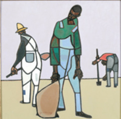 Three Share-Croppers,Robert Gwathmey