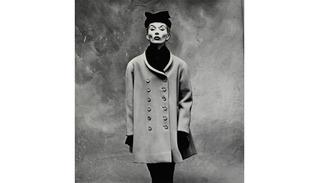 "Balenciaga ""Little Great Coat"" (Lisa Fonssagrives-Penn), Paris, Irving Penn"