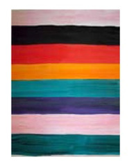 Serape Panel III ,Mary Heilmann