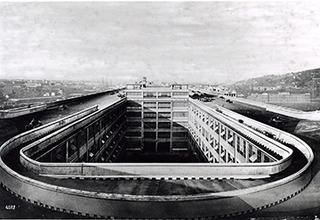 Fiat factory Lingotto, Turin, Italy. ,
