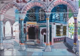 Yerevan Kiosk, Istanbul, Chris Baker