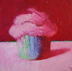 Big Pink Cupcake I, Debi Gero