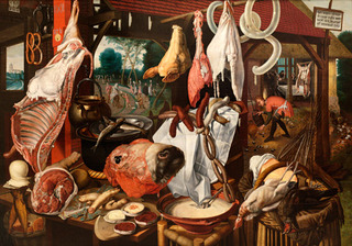 The Meatstall,Pieter Aertsen
