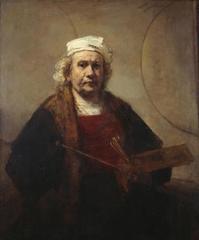 Portrait of the Artist, Rembrandt van Rijn