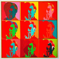 Self-Portrait , Andy Warhol