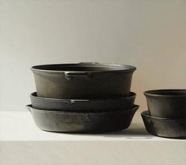 Five Iron Pots, Richard Davis